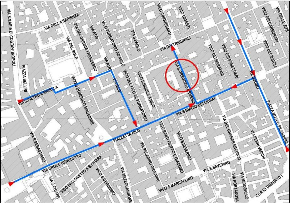 Mappa Napoli