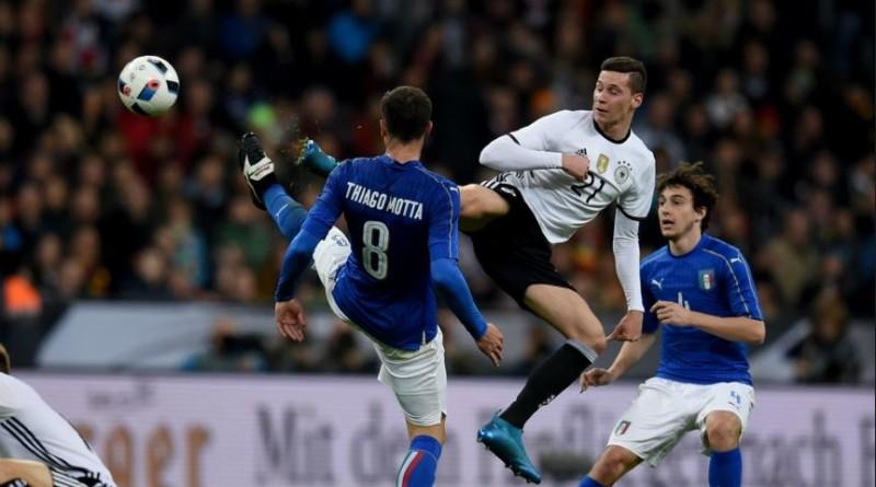 lezione di calcio tedesca