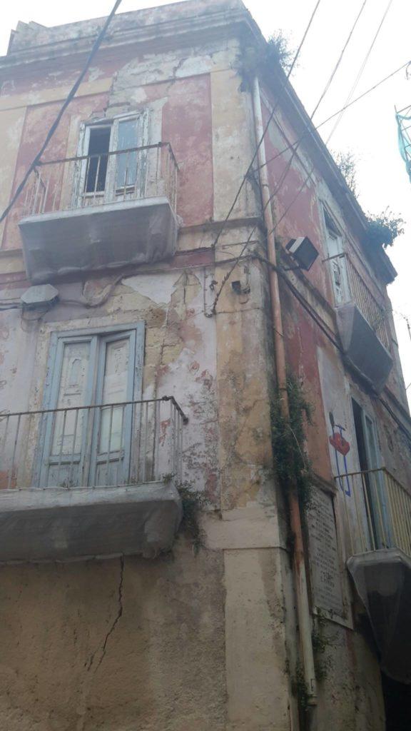 Taranto: abbandono casa natale di Giovanni Paisiello