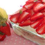 Tiramisù alle fragole | (VIDEO) Ricetta di primavera, una festa di sapore e colore