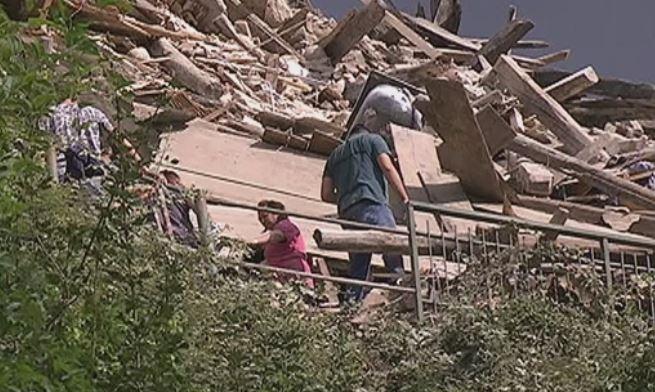 sisma ml6 demolisce centro italia