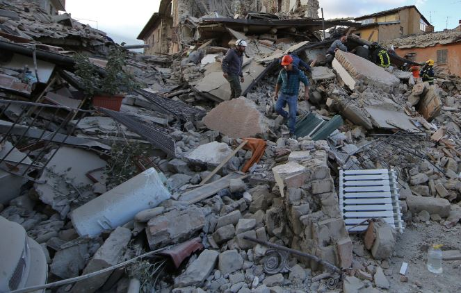 approvato il dl sul terremoto renzi