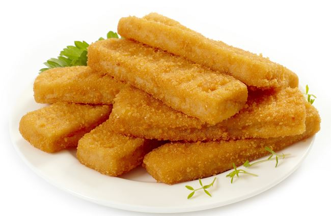 bastoncini di pesce casalinghi