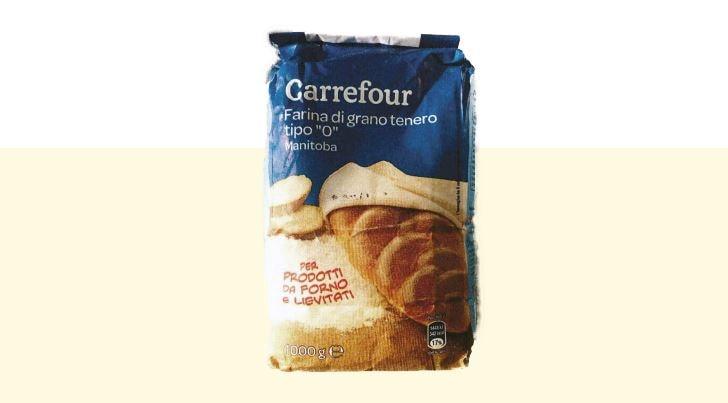 carrefour ritira farina di grano