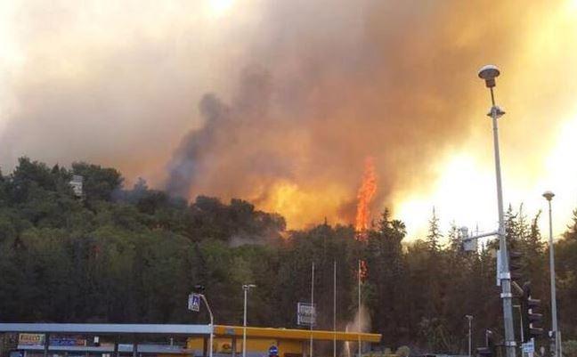 israele brucia devastata dagli incendi