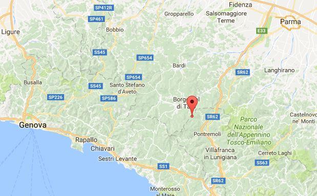 notte di terremoto centro-nord
