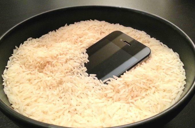 preparare il risotto allo smartphone