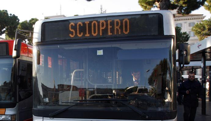 sciopero mezzi pubblici roma 15 novembre