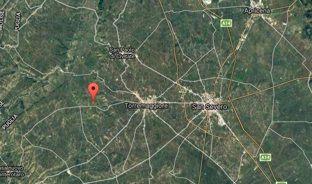 terremoto nel foggiano 22 novembre