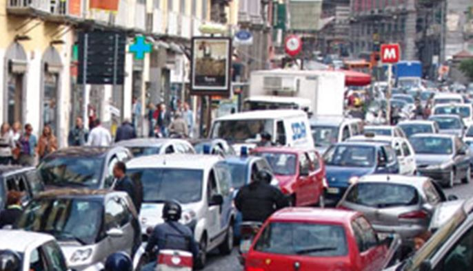 blocco traffico autoveicolare napoli 2016-17