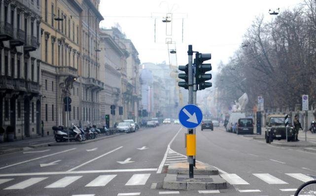 blocco traffico autoveicoli milano dic-2016