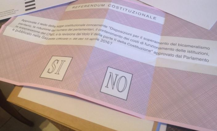 Referendum 4 dicembre confermativo | RENZI LASCIA, vittoria del NO schiacciante