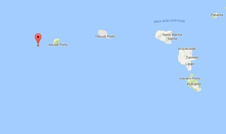 terremoto isole eolie 3 dicembre