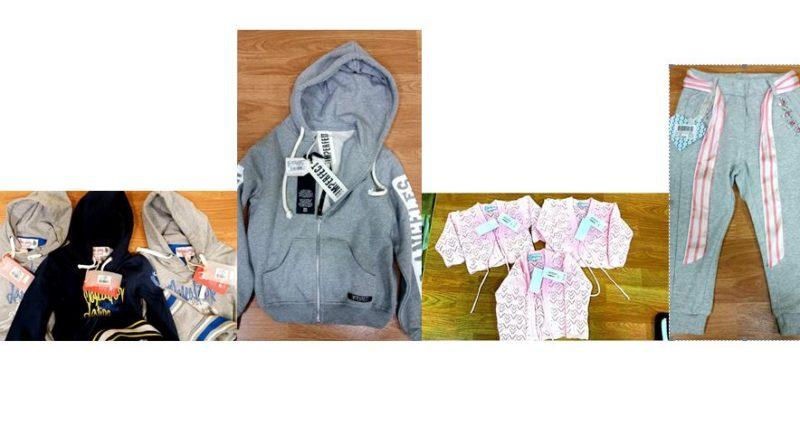 ritiro capi abbigliamento bambini febbraio 2017