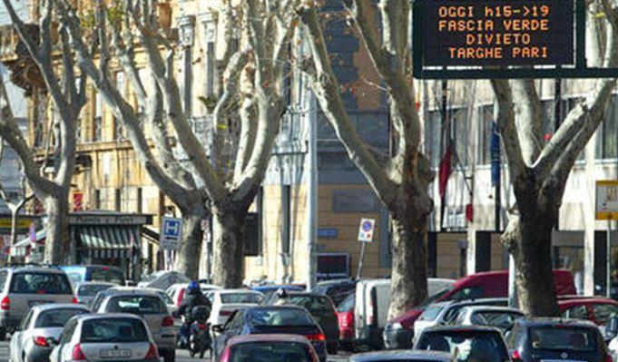 blocco traffico roma 26 marzo 2017