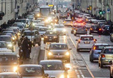 BLOCCO TRAFFICO Torino 2 aprile 2017 | Domenica di STOP alle auto