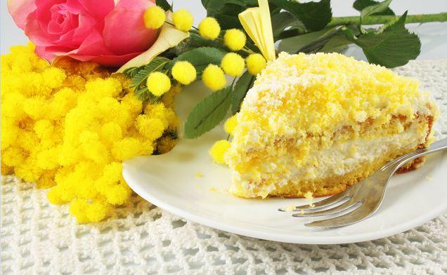 ricetta vegan della torta mimosa