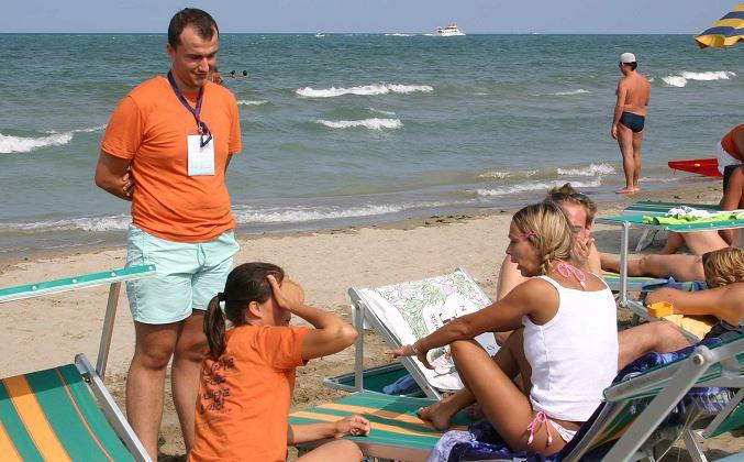 confessioni sulla spiaggia di riccione