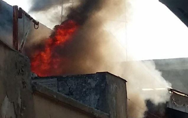 incendio presso abitazione di casamassima