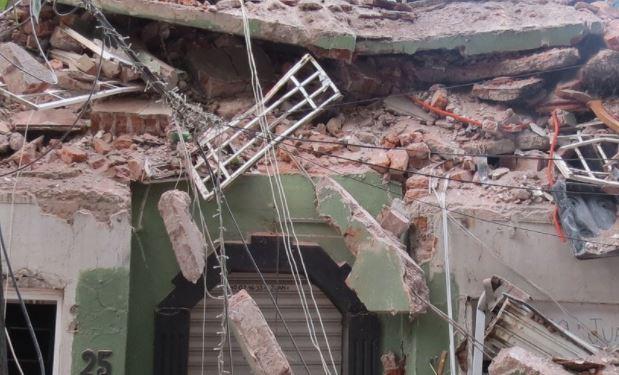 messico gravemente ferito dal terremoto