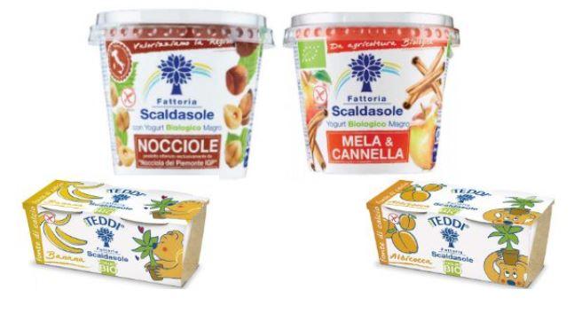 richiamo yogurt fattoria scaldasole
