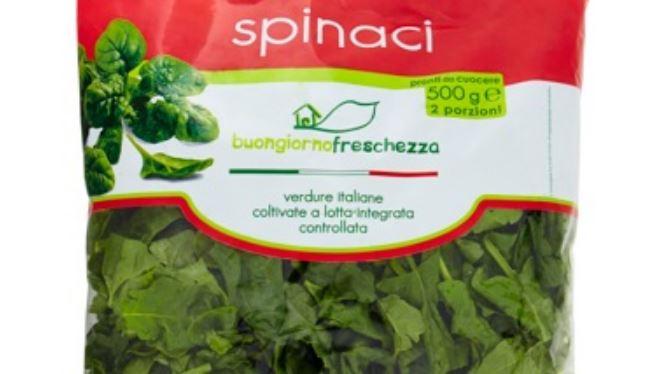 spinaci imbustati contenenti erba velenosa