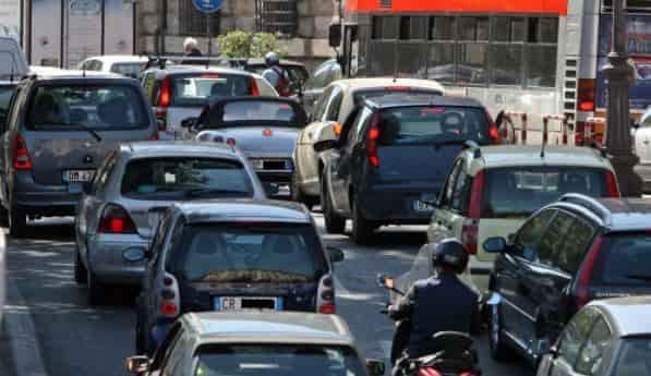 Blocco traffico Torino