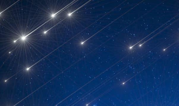 pioggia di meteore orionidi