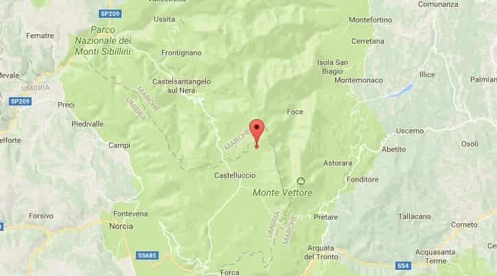 scossa di terremoto marche 19 ottobre
