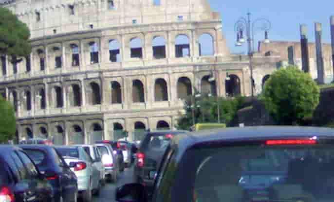 blocco traffico roma 19 novembre