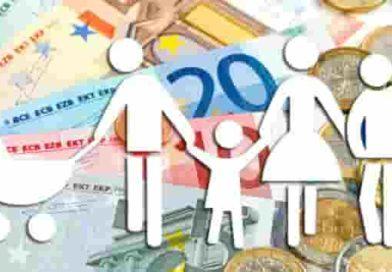 Assegni al nucleo familiare | Le tabelle e gli importi ANF validi fino al 30 giugno
