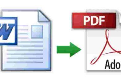 Come convertire un file Word in PDF   Ecco tutti i metodi semplici e veloci