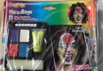 Trucchi di carnevale | Ritirato dal mercato un lotto di Maquillage per presenza di metalli pesanti