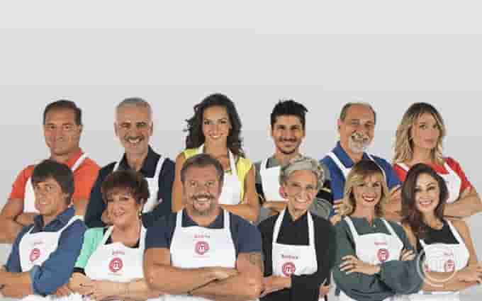 concorrenti celebrity masterchef italia 2018