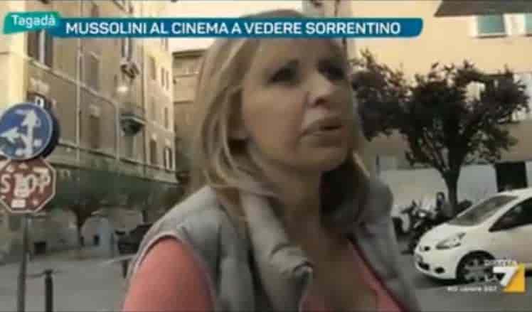 """La Mussolini sul film """"Loro 1"""""""