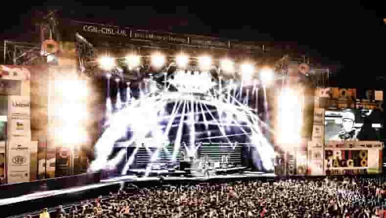 artisti del concerto del primo maggio roma 2018