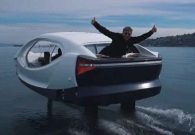 Auto elettrica SeaBubbles   (VIDEO) In futuro fiumi e laghi saranno utilizzati come strade