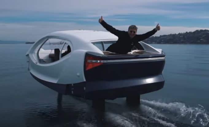 Auto elettrica SeaBubbles