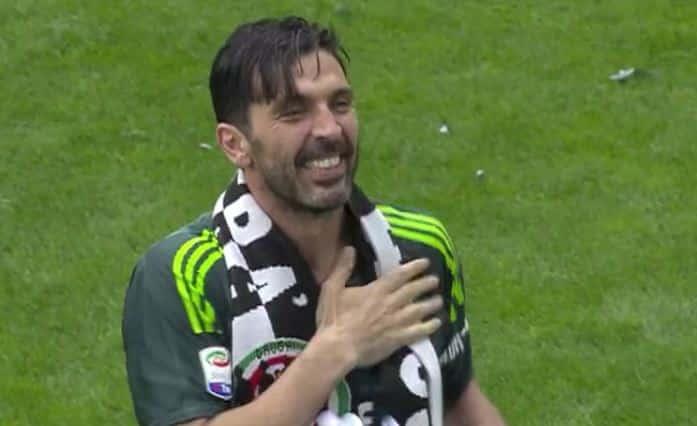 Buffon lascia la Juve