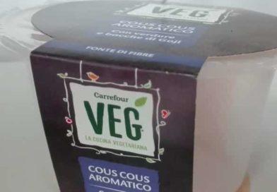 Richiamo Cous cous Carrefour Veg | Ritirato UN LOTTO di confezioni, ecco perché