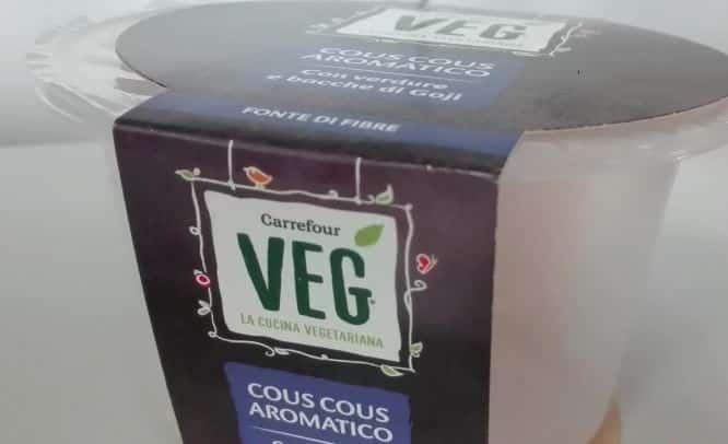 richiamo cous cous carrefour veg