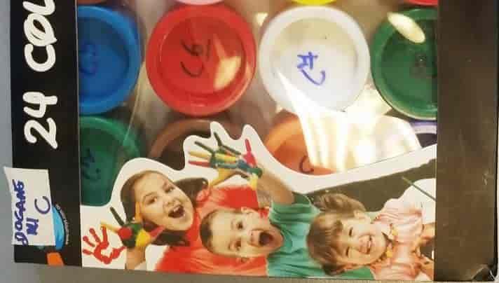pittura per bambini pericolosa
