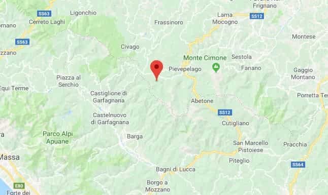 terremoto emilia toscana 2 luglio 2018