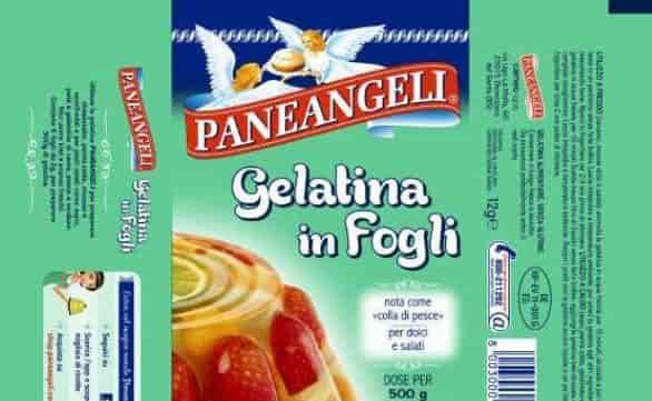 cameo richiama gelatina paneangeli