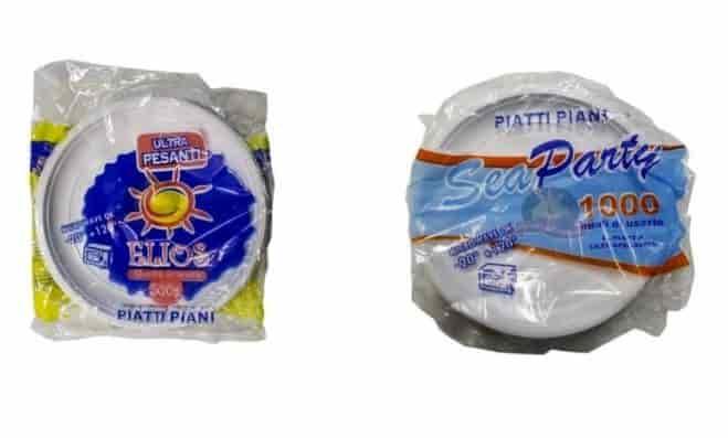 Piatti di plastica tossici