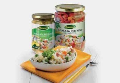 Vetro nei vasetti Grangusto   Rischio di frammenti nell'insalata di riso, scatta il ritiro di un lotto