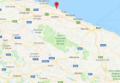 Terremoto Bari 21 maggio 2019   SCOSSA di magnitudo Mw 3.7 ma l'epicentro è a BARLETTA